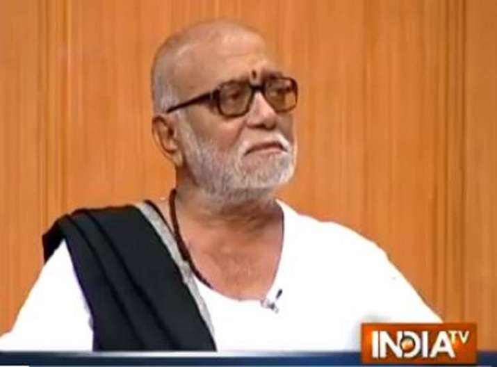 Morari Bapu in Aap Ki Adalat with Rajat Sharma