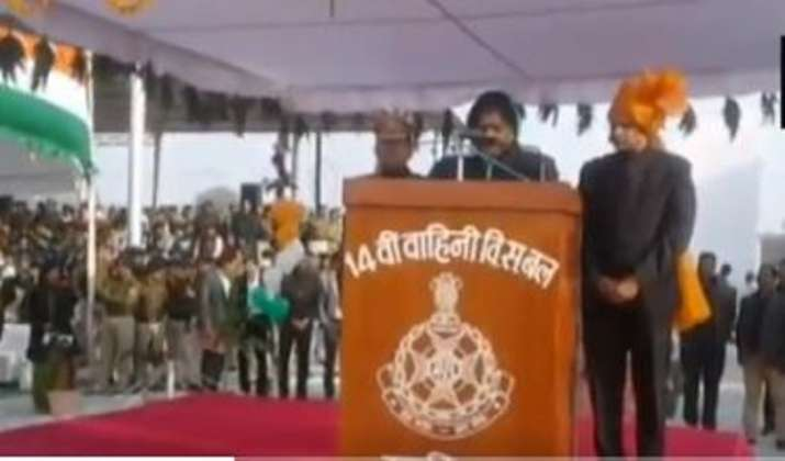MP Minister Imarti Devi fails to read out her Republic Day