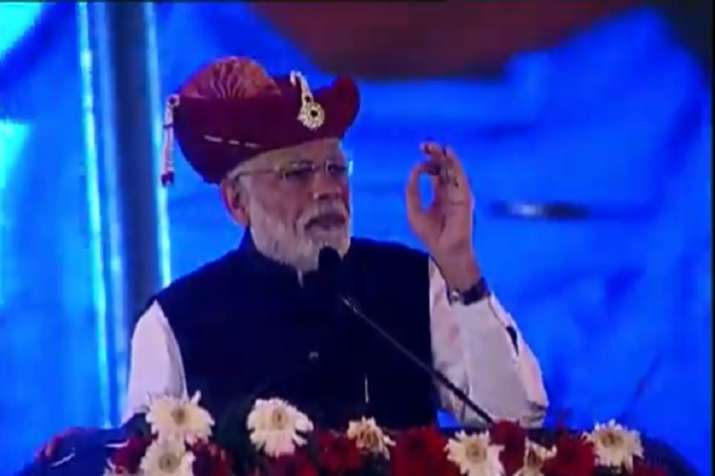 PM Modi in Silvassa LIVE: 'Our only aim is devt, we want to