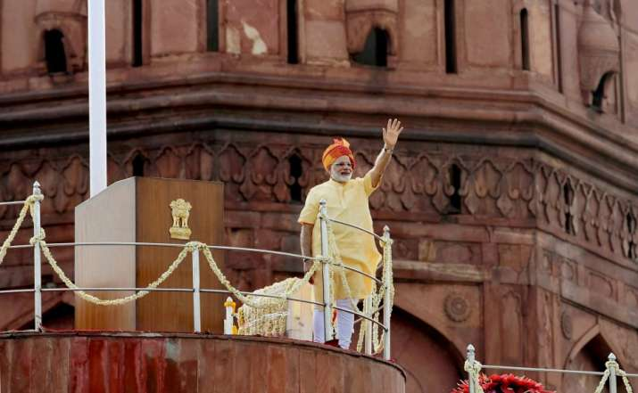 File photo of PM Modi at Red Fort