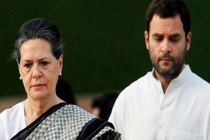 Congress President Rahul Gandhi and UPA Chairperson Sonia