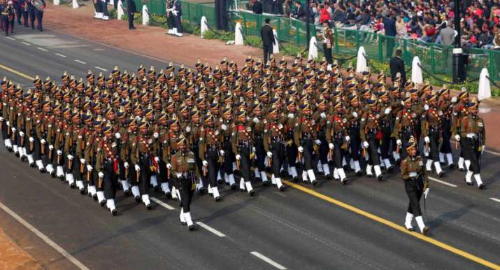 Multi-layered high security shield deployed around Rajpath