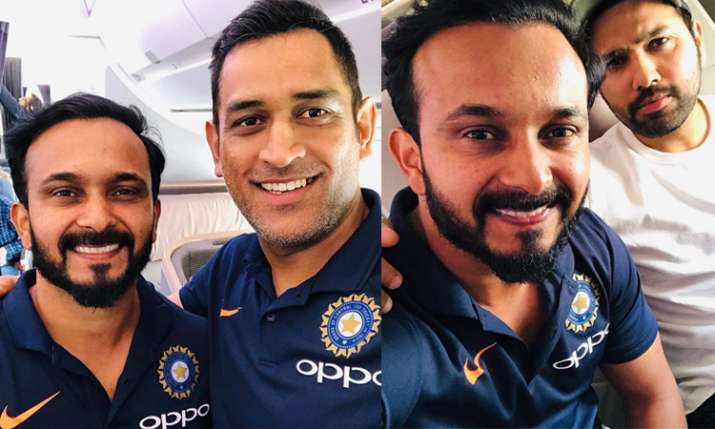 Rohit Sharma, MS Dhoni leave for ODI series in Australia with other limited overs specialists