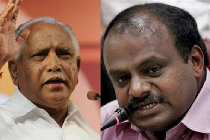 State BJP President BS Yeddyurappa has alleged that the
