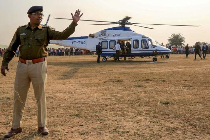 The chief minister flew to Jharkhand's Bokaro before