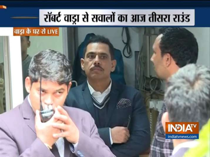 ED questions Robert Vadra for third time