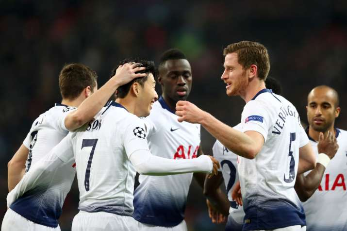 Tottenham rout depleted Borussia Dortmund 3-0 in first leg