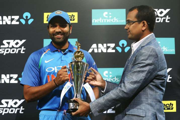 Wanted to bat in difficult conditions to prepare for World Cup, says Rohit Sharma
