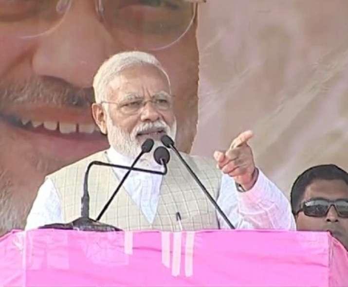 PM Modi Durgapur rally TMC Mamata Banerjee