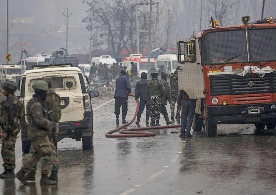 Pulwama terror attack CRPF