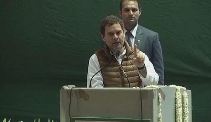 Rahul Gandhi PM Modi debate challenge