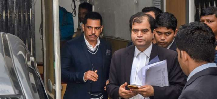 Robert Vadra ED money laundering case