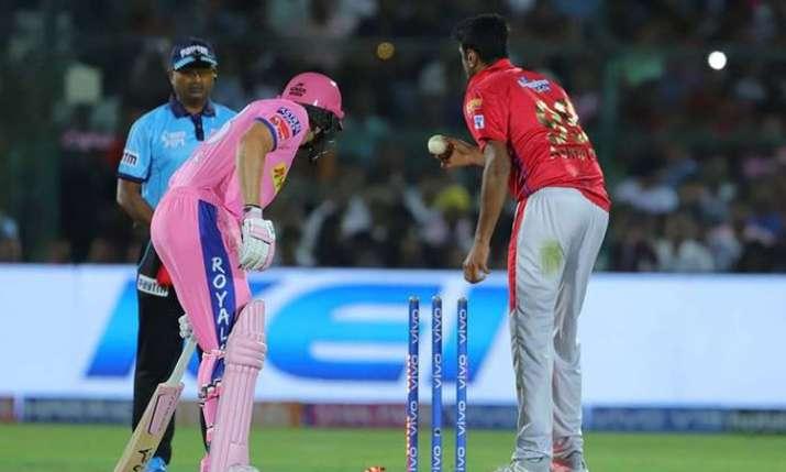 IPL 2019: Controversy erupts as Ashwin 'Mankads' Buttler; Vaughan, Morgan call it terrible