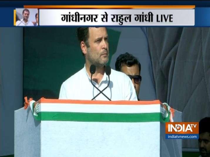 Rahul Gandhi at CWC