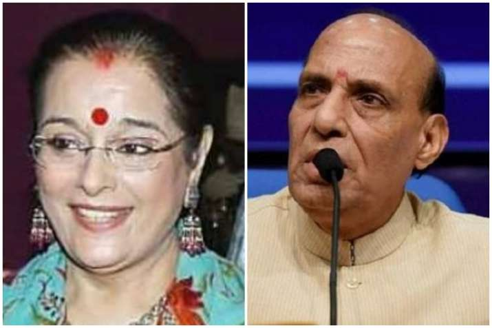 Poonam Sinha to contest against Rajnath Singh in Lucknow