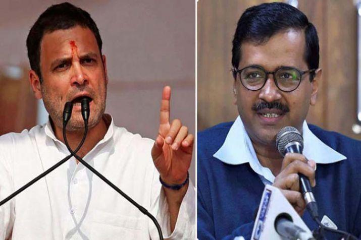 Arvind Kejriwal and Rahul Gandhi