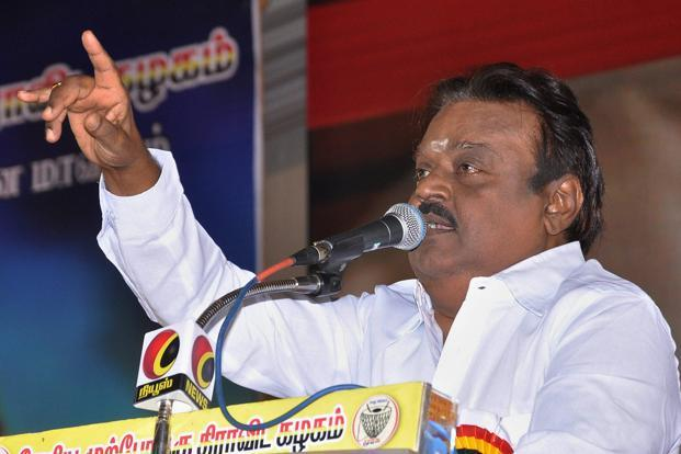 A. Vijayakanth,Former Leader of Opposition in the Tamil