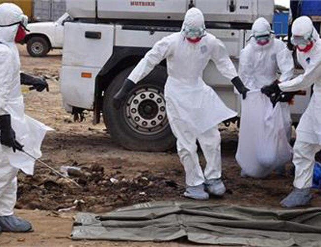 WHO said $54 million is needed to stop the Ebola outbreak.