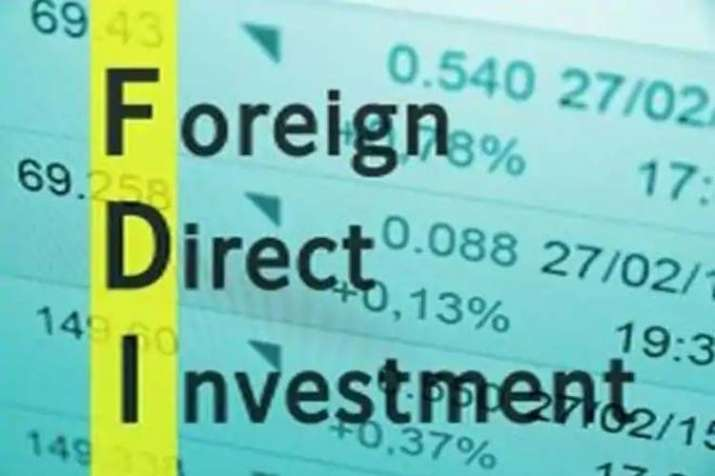 FDI in India grew by 6%