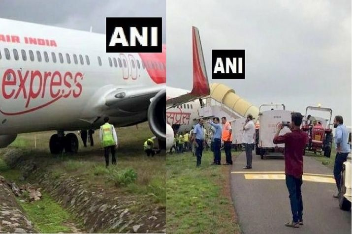 Air India Express flight veers off taxiway, all passengers