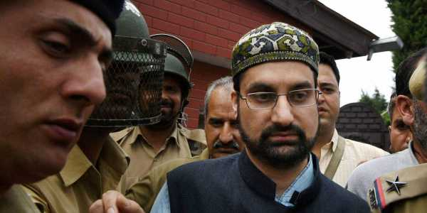 Moderate separatist leader and cleric Mirwaiz Umar Farooq
