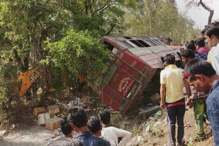 18 injured in bus accident in J&K's Kishtwar.
