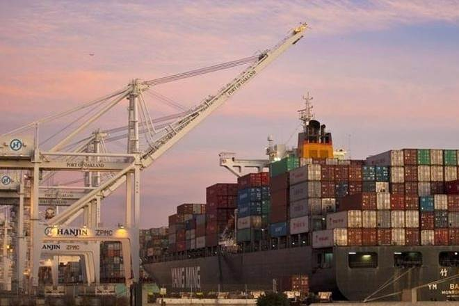 India's merchandise exports rose 3.93 percent on a