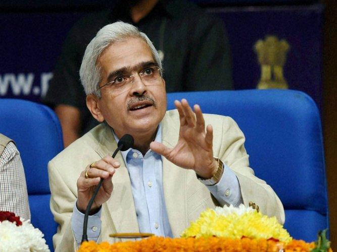 RBI Governor Shaktikanta Das