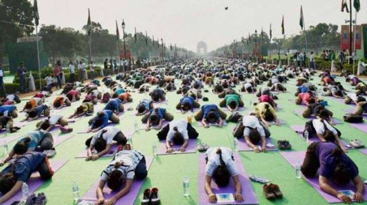 The UN declared June 21 as Yoga Day following the