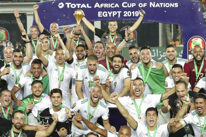 Algeria are the defending champions of the title