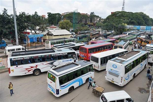 Bus strike