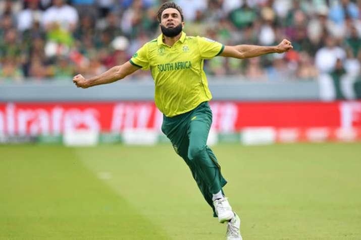 Leg-spinner Imran Tahir