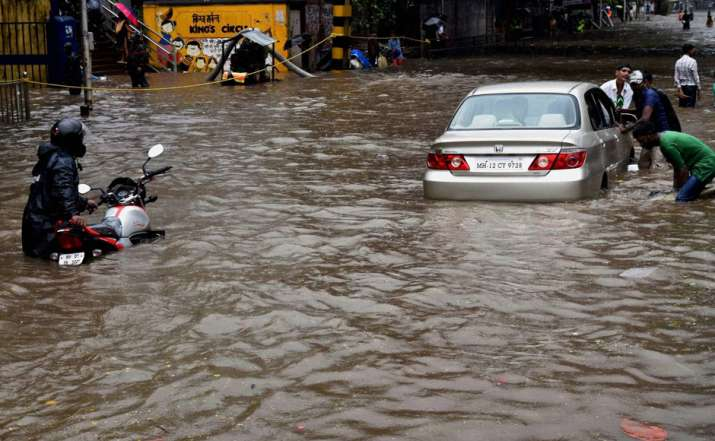 Actual image indicating the current situation of Mumbai.