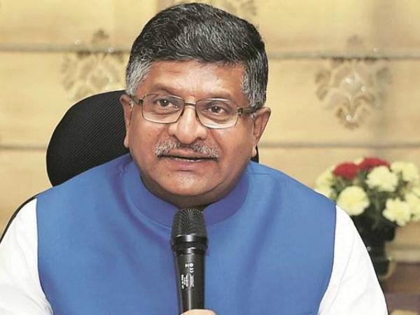 IT and Telecom Minister Ravi Shankar Prasad