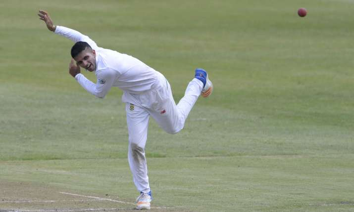 South African spinner Keshav Maharaj