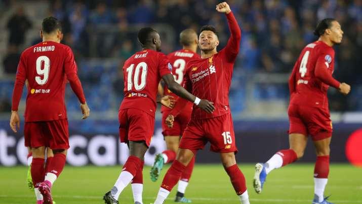 Champions League: Alex Oxlade-Chamberlain scores brace as Liverpool rout Genk 4-1