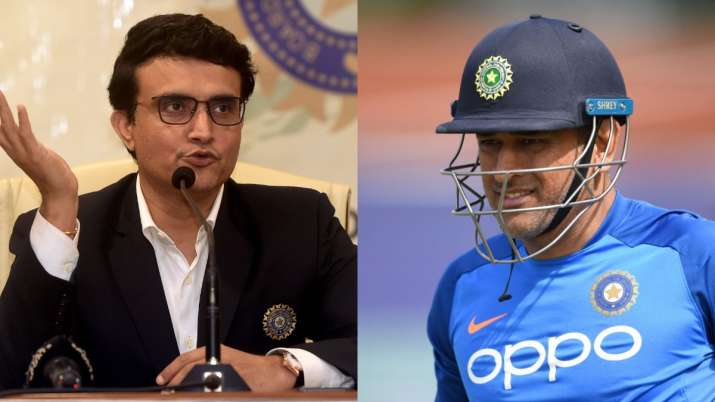 sourav ganguly ms dhoni