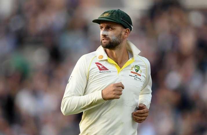 Australia's off-spinner Nathan Lyon