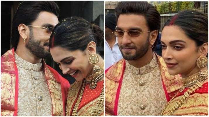 Latest News Photo of the day: Deepika Padukone, Ranveer Singh's newly-wed look from Tirupati, Deepik