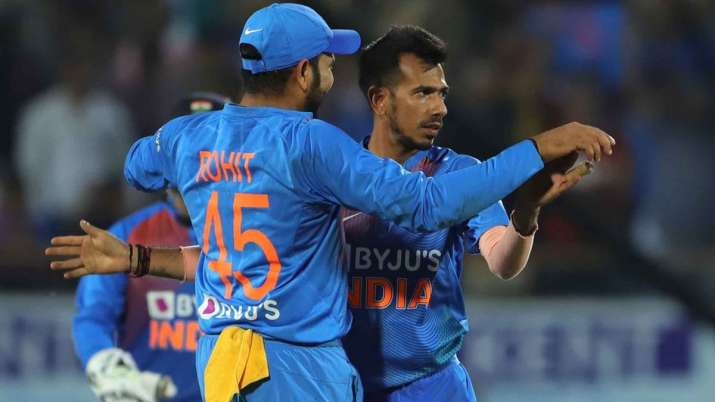 Yuzvendra Chahal has proved his value again in middle overs: Rohit Sharma