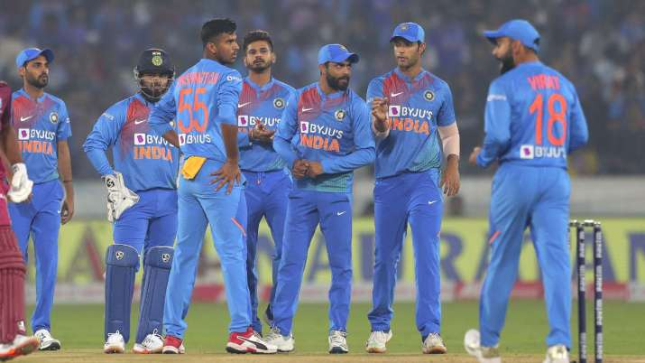 India dropped five chances during 1st T20I against West