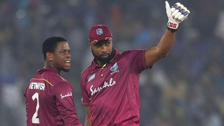 West Indies vs India Kieron Pollard