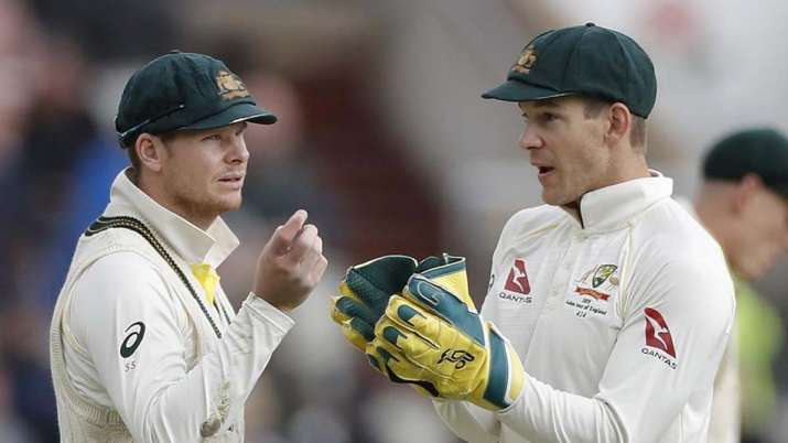 Steve Smith and Tim Paine