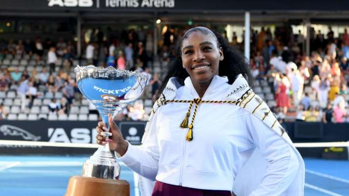 Serena Williams is the defending champion in the women's