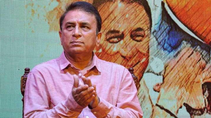 Batting legend Sunil Gavaskar