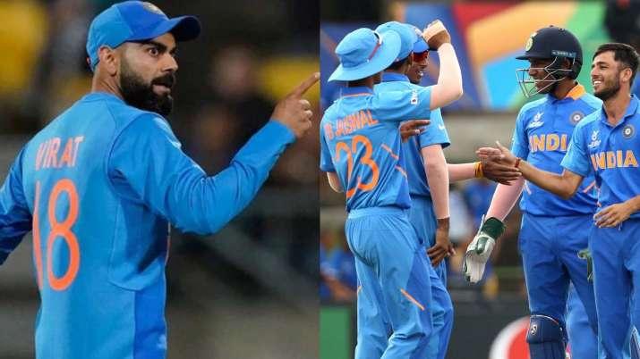 Virat Kohli's men send best wishes to India U19 team ahead