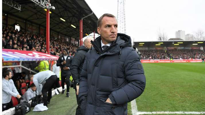 Leicester manager Brendon Rodgers had also acknowledged the