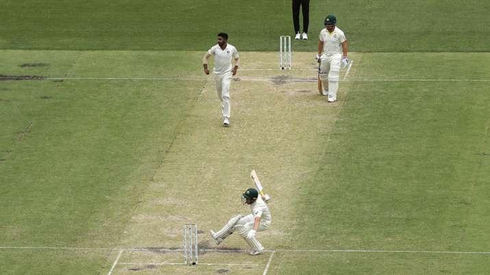 India in action against Australia during 2018/19 series