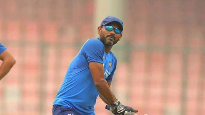 Indian fielding coach R Sridhar
