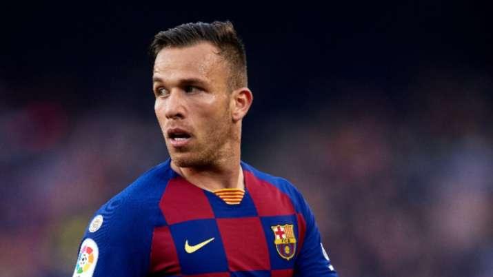 Barcelonamidfielder Arthur